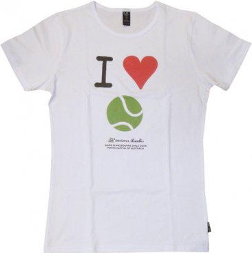 T-Shirt I Heart Tennis Melbourne