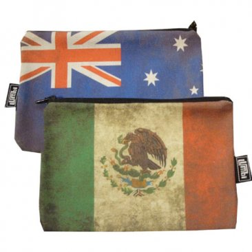 My Two Worlds Pencil Case 18x10cm Australia & Mexico