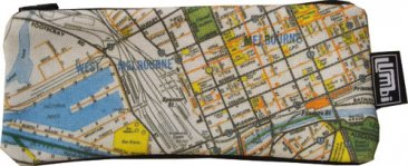 Glasses Case 19x8cm Melways Map