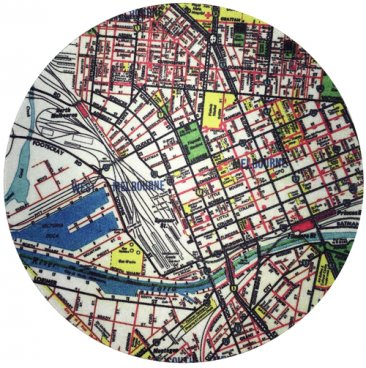 Mouse Pad Melway Map 43 (CBD)