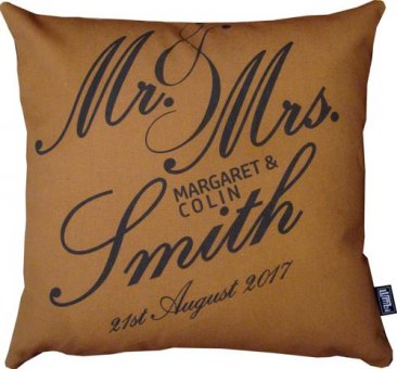 Mr and Mrs Script Brown