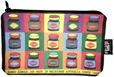 Pencil Case 18x10cm Pop Art Vegemite
