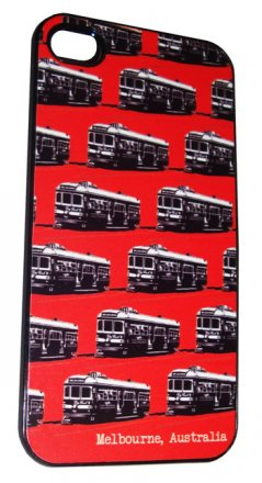 iPhone 4/5 Case Trams Red
