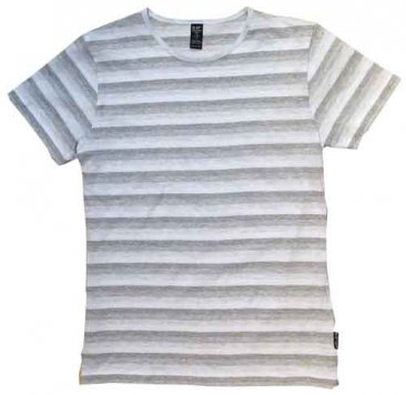 Blak Summer Stripe T-Shirt Blank