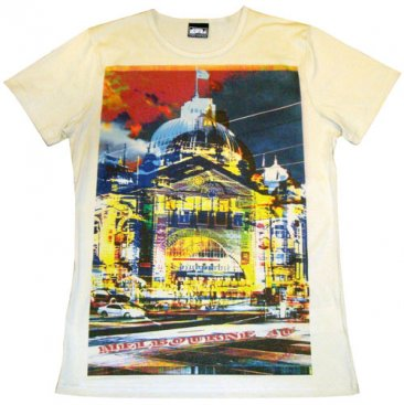 T-Shirt Sand Flinders Street Colours