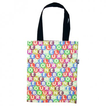 Tote Bag 33X40cm Melbourne Lotto