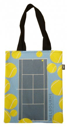 Tote Bag 40x33cm Melbourne Tennis Capital of Australia