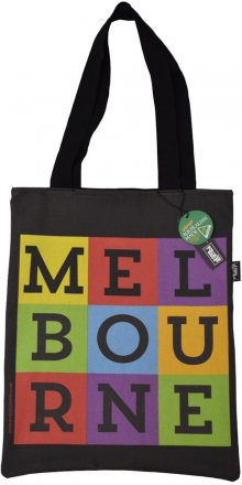 Tote Bag 40x33cm Melbourne Pop Art