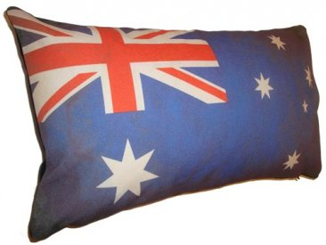 Cushion 50x30cm Vintage Australian Flag