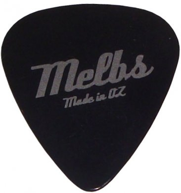 Guitar Pick Melbs Made in Oz