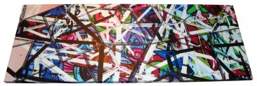 Canvas Art 45x120cm Federation Square