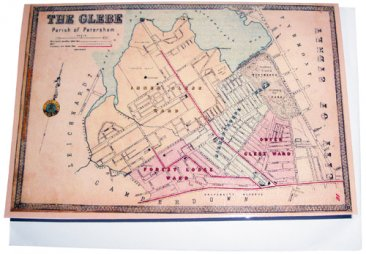 Greeting Card A6 The Glebe 1885