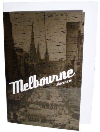 Greeting Card A6 Melbourne Since 1835