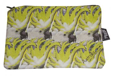 Pencil Case 18x10cm Cockatoo
