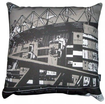 Cushion Melbourne Cricket Ground Grey