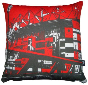 Cushion Melbourne Cricket Ground Red
