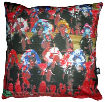 Cushion Melbourne Cup Red