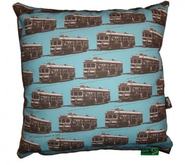 Cushion Trams Blue