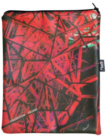 iPad Cover with Zipper Federation Square