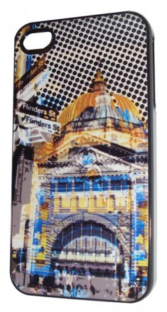 iPhone 4/5 Case Flinders Street Yellow