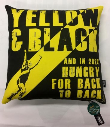 Cushion Yellow & Black and in 2020 Hungry for Back to Back