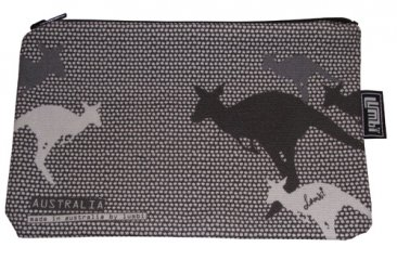 Pencil Case 18x10cm Kangaroo Dots