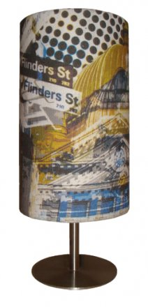 Table Lamp 29cm Flinders Street Yellow