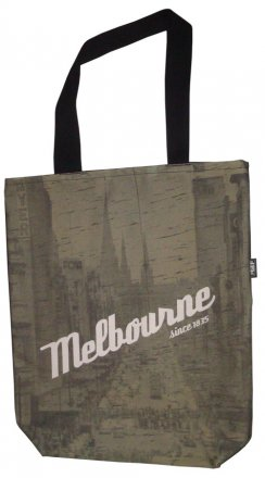 Large Tote 40x30x10cm Melbourne Since 1835