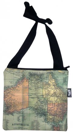 Mino Bag 19x19cm Australian Map 1923