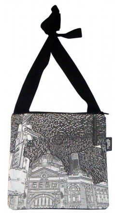 Mino Bag 19x19cm Flinders St Etchings