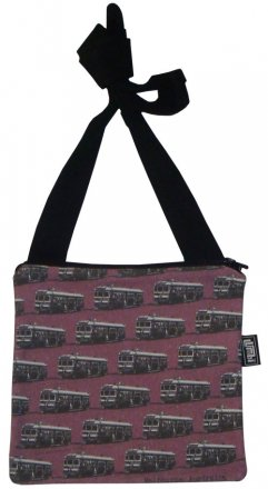 Mino Bag 19x19cm Trams Purple