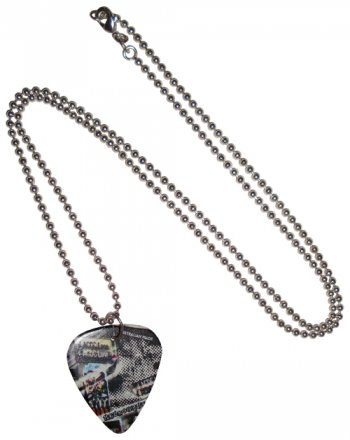 Guitar Pick Necklace ACDC Lane