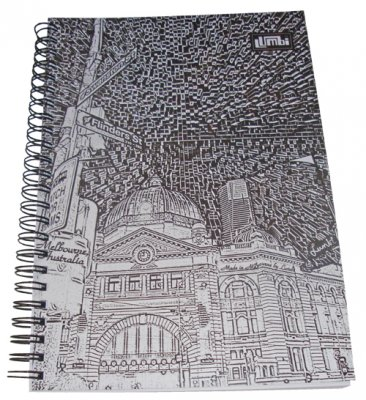 Notebook A5 Flinders St Etchings