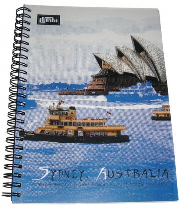 Notebook A5 Sydney Harbour Blue