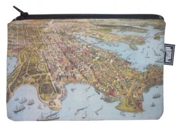 Pencil Case 18x10cm Sydney Birdseye view