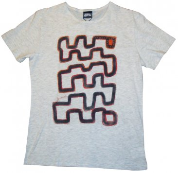 T-Shirt White-Marle Maze to Nowhere