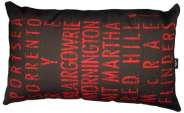 Cushion 50x30cm Destination Scroll