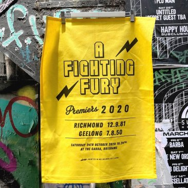 Tea Towel 50x70cm Cotton A Fighting Fury Richmond 2020