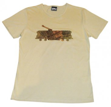T-Shirt Sand Cotton Whiteheads Tram