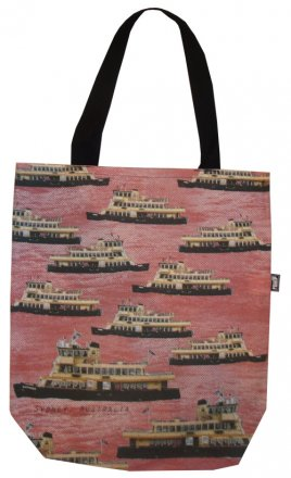 Large Tote 40x30x10cm Sydney Ferries