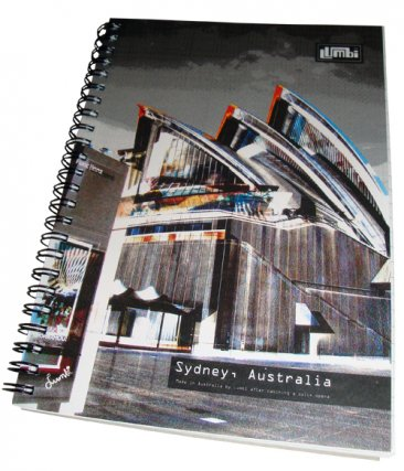 Notebook A5 Sydney Opera House