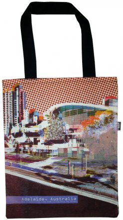 Tote Bag 40x33cm Adelaide Riverside Orange