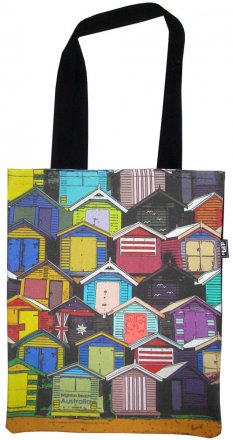 Tote Bag 33X40cm Brighton Beach Boxes