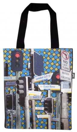 Tote Bag 33X40cm Canberra Streets