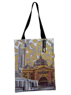 Tote Bag 40x33cm The Old and The New