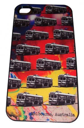 iPhone 4/5 Case Trams on Spilt Ink