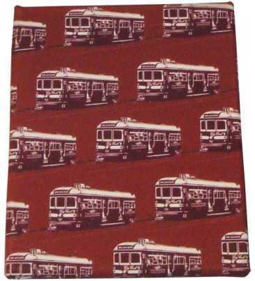 Art Canvas 20x25cm Trams Brown