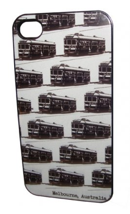iPhone 4/5 Case Trams White