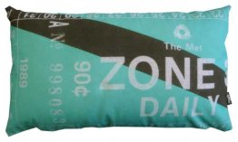 Cushion 50x30cm Zone 3 Ticket (More Colours)