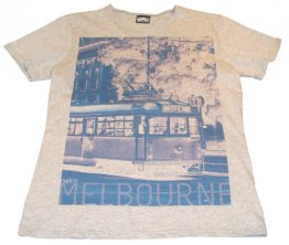 T-Shirt Cotton Tram Neg